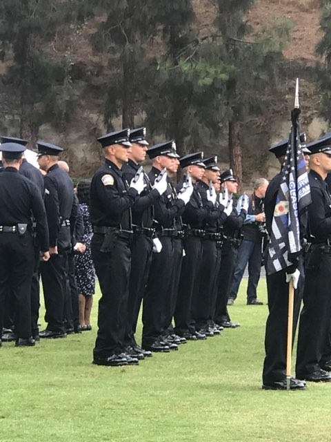 In addition to 550 sworn officers