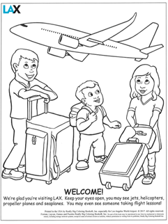 LAX Coloring Book