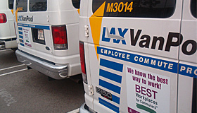 Vanpool from Rideshare